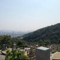 Photo taken at 長峰墓地 by Kimiko S. on 8/15/2013
