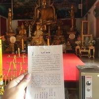 Photo taken at วัดแค (ราชานุวาส) by ✨Nannie✨ C. on 1/6/2017