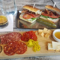 Photo taken at Moody's Delicatessen & Provisions by Kevin C. on 4/17/2017