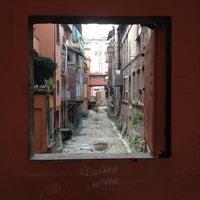 Photo taken at La piccola Venezia - Finestra Sul Reno by Luca B. on 11/9/2013