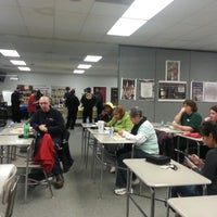 Photo taken at Harrison High School by Chris B. on 1/9/2013