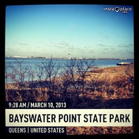 Photo taken at Bayswater Point State Park by Manny G. on 3/10/2013