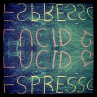 Снимок сделан в Lucid Cafe пользователем Manny G. 4/9/2013