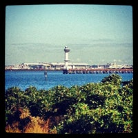 Photo taken at Bayswater Point State Park by Manny G. on 9/21/2012