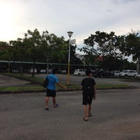 Photo taken at Parking Kompleks Sukan Likas by Vino KЯB™ on 10/15/2013