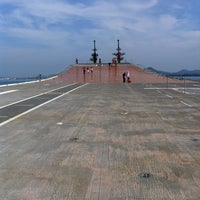 Photo taken at HTMS Chakri Naruebet by ปัณณวัฒน์ on 1/1/2013