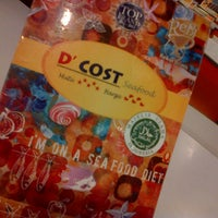 Photo taken at D'Cost Seafood by YoGieZ ™. on 9/23/2013