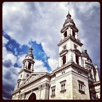 Photo taken at St. Stephen's Basilica by Gabor Z. on 4/14/2013