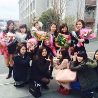 Photo taken at 大阪府立 山本高等学校 by 福田 有. on 3/6/2015