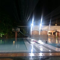 Photo taken at Manyar swimming pool by Yudianto on 11/21/2015
