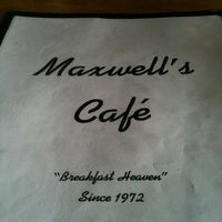 Photo taken at Maxwell's Café by DonnieBo O. on 6/2/2013