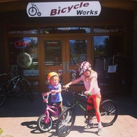 Photo taken at Bicycle Works by Stuart H. on 7/25/2013