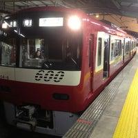 Photo taken at Keikyu Shinagawa Station (KK01) by Koji A. on 3/22/2013
