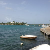 Photo taken at Christiansted Boardwalk by Iris P. on 6/18/2013