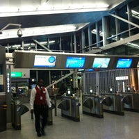 Photo taken at JFK AirTrain - Howard Beach by Fabrizio G. on 12/20/2012