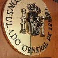 Photo taken at Consulado General de España en Miami by Ed F. on 2/12/2015