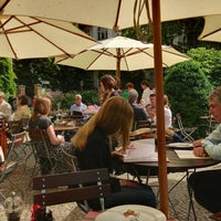 "Photo taken at Café Restaurant ""Wintergarten"" by Johannes G. on 6/16/2013"
