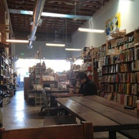 Photo taken at Stories Books & Cafe by Jazmin O. on 11/10/2012