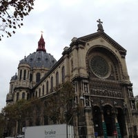 Photo taken at Église Saint-Augustin by wdb 0. on 11/8/2012