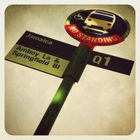 Photo taken at MTA Buses Q1-Q27-Q88 by jim w. on 11/15/2012