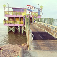 Photo taken at 61st Street Fishing Pier by Christopher S. on 7/4/2013
