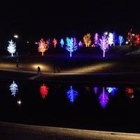 Photo taken at Vitruvian Park by Christopher S. on 11/24/2012