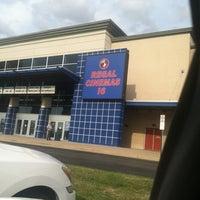 Photo taken at Regal Cinemas Potomac Yard 16 by Warren ♏. on 9/14/2012