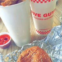 Photo taken at Five Guys by Melissa on 3/18/2016