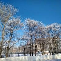 Photo taken at Стадион школы №237 by Julie P. on 2/22/2018
