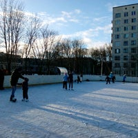 Photo taken at Стадион школы №237 by Julie P. on 1/21/2017