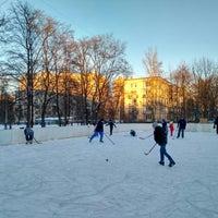 Photo taken at Стадион школы №237 by Julie P. on 2/24/2018