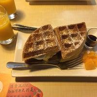 Photo taken at Mango ChaCha 芒果恰恰冰館 by Henry K. on 2/25/2015