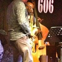 Photo taken at 606 Club by Alan W. on 1/10/2013