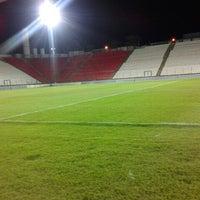 Photo taken at Estádio Joaquim Henrique Nogueira (Arena do Jacaré) by Raphael C. on 10/15/2012