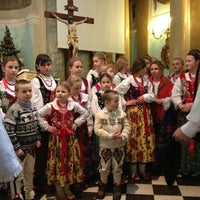 Photo taken at Salwator Klasztor by Barbara L. on 1/27/2013
