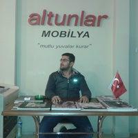 Photo taken at altunlar Mobilya by Ümit A. on 11/24/2014