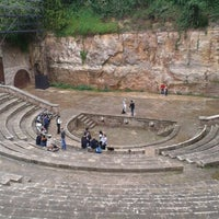 Photo taken at Teatre Grec by María on 11/17/2012