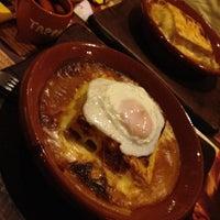 Photo taken at Tappas Caffé by Luís R. on 2/21/2013