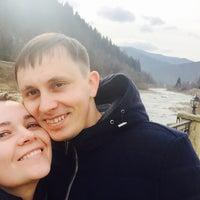 Photo taken at Затін by Alona K. on 3/5/2016