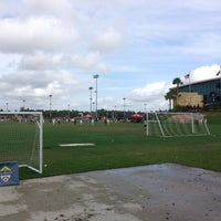 Photo taken at HESS® Sports Fields by Ryan H. on 1/2/2014