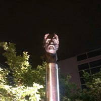 Photo taken at Frank Zappa Statue by Matt K. on 5/25/2013