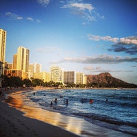 Photo taken at Waikīkī Beach by Jeff G. on 5/18/2013