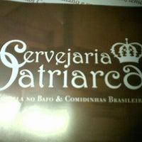 Photo taken at Cervejaria Patriarca by Sandra G. on 10/14/2012
