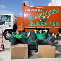 Photo taken at College Hunks Hauling Junk and Moving by College Hunks Hauling Junk & Moving on 11/24/2014