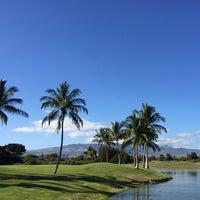 Photo taken at Hawaii Prince Golf Club by Caroline K. on 1/22/2015