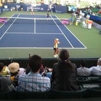 Photo taken at Taube Family Tennis Stadium by Van W. on 8/5/2015