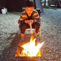 Photo taken at 홍천강오토캠핑장 by SeongKeun L. on 10/10/2014