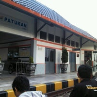 Photo taken at Stasiun Patukan by Dizar A. on 7/11/2014