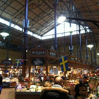 Photo taken at Östermalms Saluhall by Wouter V. on 3/18/2013