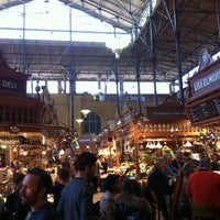 Photo taken at Östermalms Saluhall by Wouter V. on 4/27/2013